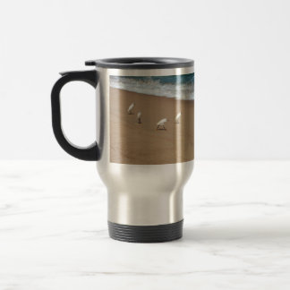 Four Egrets Travel Mug