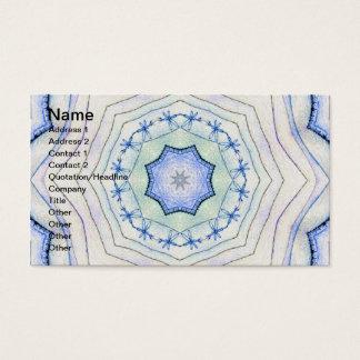 Four Elements Air Mandala Business Card