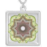 Four Elements Earth Mandala Pendant