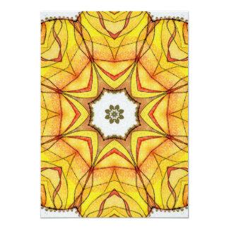 Four Elements Fire Mandala Card