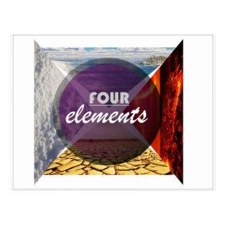 four elements.jpg postcard