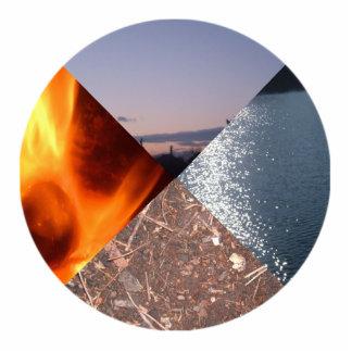 Four Elements Photo Cut Out