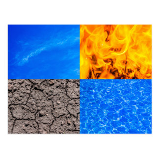Four Elements Postcard
