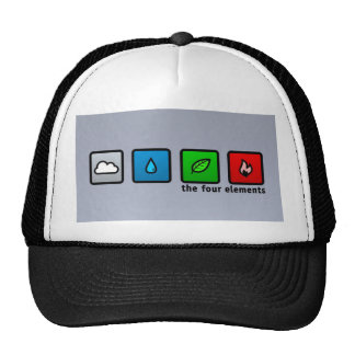 four elements trucker hat