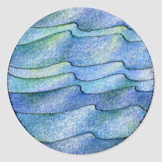 Four Elements Water Classic Round Sticker