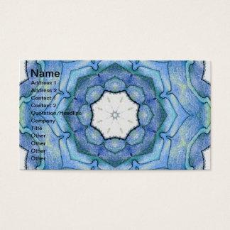 Four Elements Water Mandala Business Card