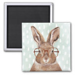 Four-Eyed Forester | Bunny Rabbit Magnet