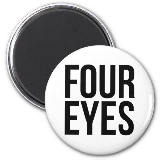 Four Eyes 2 Inch Round Magnet