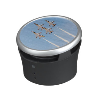 Four F-16 Thunderbirds fly in close formation Bluetooth Speaker