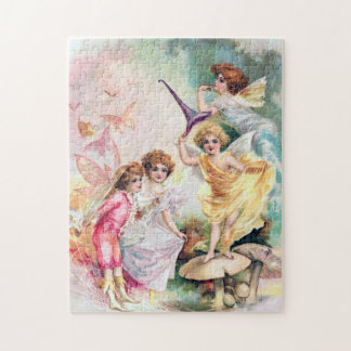 Four Fairies in Butterflyland Jigsaw Puzzle