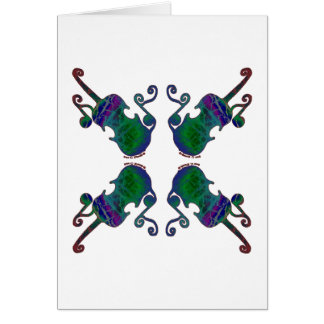 FOUR FANCY FIDDLES CARDS