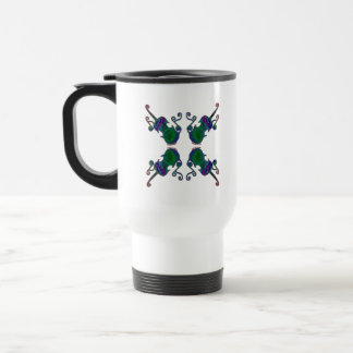 FOUR FANCY FIDDLES TRAVEL MUG