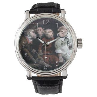 Four Fancy Monkeys Wrist Watch