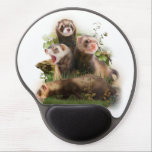 "Four Ferrets in Their Wild Habitat Gel Mouse Pad<br><div class=""desc"">Four Ferrets in Their Wild Habitat &quot;pet ferret&quot;, &quot;female ferret&quot;, &quot;white ferret&quot;, &quot;cute ferrets&quot;, &quot;pictures of ferrets&quot;, &quot;ferret pet&quot;, &quot;cute ferret&quot;, &quot;polecat ferret&quot;, &quot;wild ferrets&quot;, &quot;male ferret&quot;, &quot;the ferret&quot;, &quot;ferret brown&quot;, &quot;ferret pets&quot;, &quot;funny ferret&quot;, funny, predator, pet, cute, grass, gray, ferret, kitten, brown, stone, small, plant, mustela, fur, exotic, ferrets,...</div>"