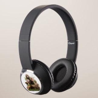Four Ferrets in Their Wild Habitat Headphones
