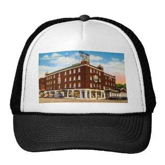 Four Flags Hotel, Niles, Michigan Trucker Hat