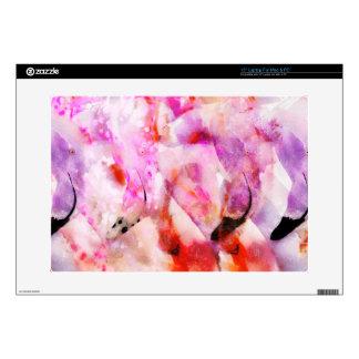 Four Flamingos Skin For Laptop