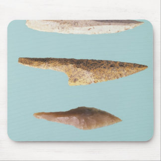 Four Flint Tools Mouse Pad