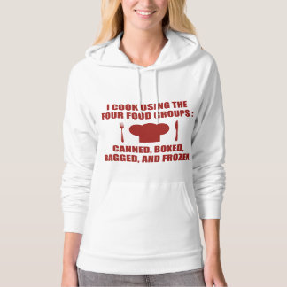 Four Food Groups Hoodie