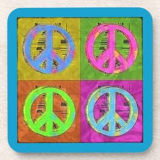 FOUR FOR PEACE Coaster Set