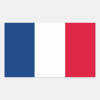 FOUR France National Flag Rectangular Sticker