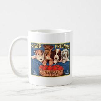 Four Friends Mugs