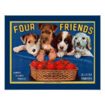 Four Friends Poster