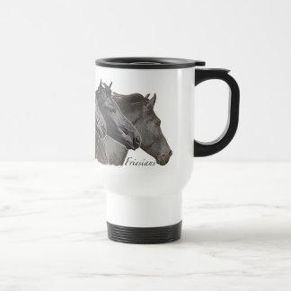 Four Friesians Coffee Mug