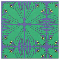 Four Frogs Fabric