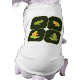 Four frogs shirt