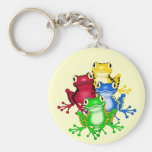 Four Frogs Tshirts and Gifts Key Chain