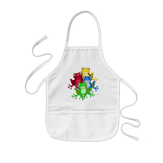 Four Frogs Tshirts and Gifts Kids' Apron