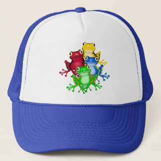 Four Frogs Tshirts and Gifts Trucker Hat