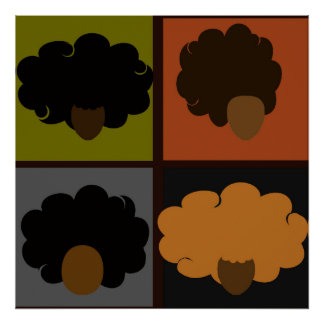 Four Fros Poster