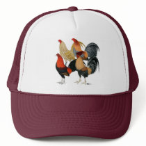 Four Gamecocks Trucker Hat