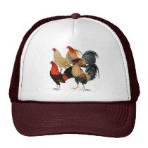 Four Gamecocks Trucker Hat