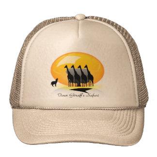 FOUR GIRAFF'S SAFARI TRUCKER HAT