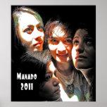 Four Girls in Manado Poster