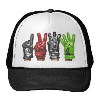 FOUR GLOVES TRUCKER HAT