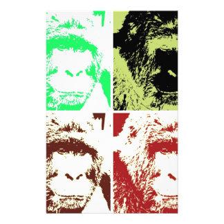 Four Gorillas Stationery