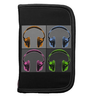 Four Graphic Headphones Organizer