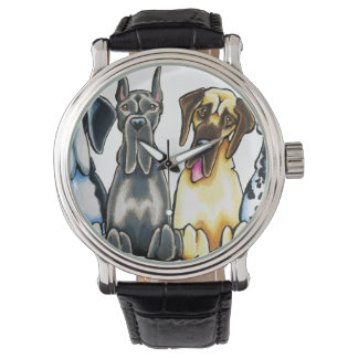 Four Great Danes Watch