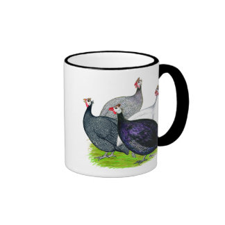 Four Guineas Ringer Coffee Mug