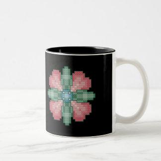 Four Heart Flower Mug