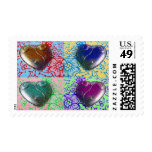 Four Hearts Postage