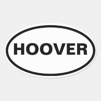 FOUR Hoover, Alabama Oval Sticker