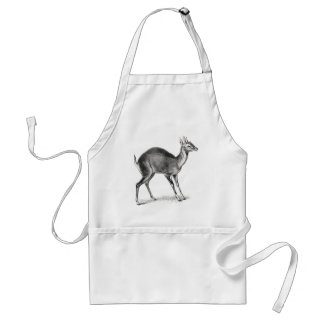 Four-Horned Antelope Adult Apron