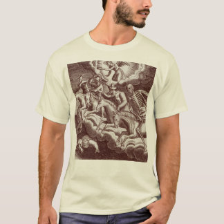 Four Horsemen of the Apocalpyse Old Bible Print T-Shirt