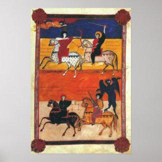 Four Horsemen of the Apocalypse A.D. 1047 Poster