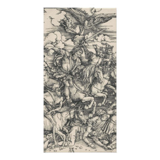 Four Horsemen of the Apocalypse by Durer Card